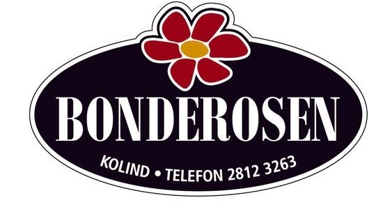 Bonderosen til facebook logo